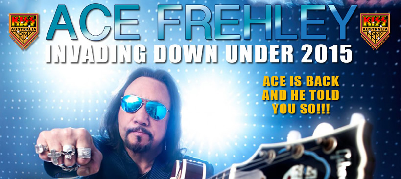 Ace Frehley Oz Tour 2015