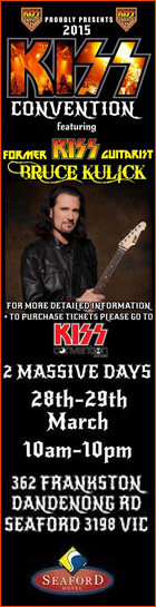 KISS Convention 2015 Australia. March 28th & 29th, Melbourne